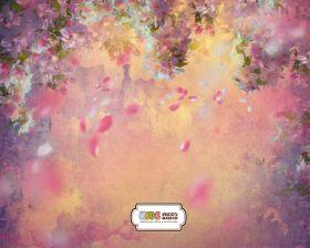 """Фон стена """"Texture bloom"""""""